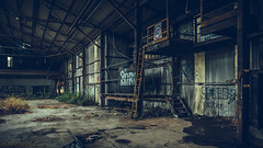 Urbex - DSC04606 (cleansurf2 Urbex) Tags: wallpaper urban color colour building abandoned industry architecture dark effects industrial artistic screensaver decay background widescreen sony 16mm lightroom urbex 16x9 ilce a6000