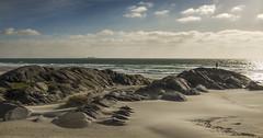 Windy - D8E_1631 (Viggo Johansen) Tags: sea sky norway clouds sand rocks waves windy rogaland hellest helleststranda hellestbeach
