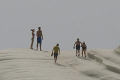detail_Scala_dei_Turchi_5042 (Manohar_Auroville) Tags: girls sea italy white beach beauty seaside rocks perspectives special scala sicily luigi dei agrigento fedele turchi scaladeiturchi manohar