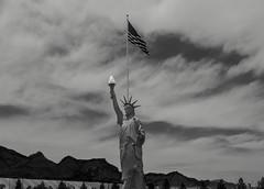 Exploring El Paso (medsw56_Barb McCourt) Tags: elpaso epphotography texas northeastelpaso vietnamwarmemorial usflag liberty mountains clouds desertsouthwest borderland blackandwhitephotography blackandwhite bnw bw sony patriotic exploringelpaso