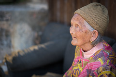The Foreigner (Jim.J.H) Tags: china old woman guilin streetscenes guangxi ancienttown daxu