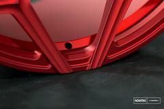 Vossen Forged- NV Series NV1 - Scarlett Red - 45039 -  Vossen Wheels 2016 - 1001 (VossenWheels) Tags: nv forged madeinusa novitec nv1 madeinmiami forgedwheels vossenforged scarlettred vossenforgedwheels vossenwheels2016 novitecxvossen