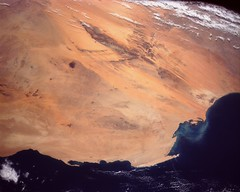 Linear Sand Dunes, Mauritania