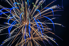 post a's / pirates baseball game fireworks (pbo31) Tags: california blue summer black blur color night dark oakland nikon focus baseball fireworks pirates july bayarea bloom coliseum eastbay independenceday alamedacounty 4thjuly mlb pyrotechnics 2016 boury pbo31 as d810