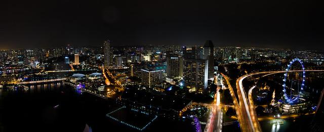 Singapore nightscape