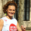 Kara Tionton Sainsbury's Sport Relief Mile 2012 - London