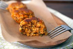 sweet potato patties (sassyradish) Tags: cooking vegetarian kosher sweetpotatoes passover sassyradish parve