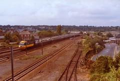New Barnet Station 1983 (beareye2010) Tags: london station train br rail railway 1983 1980s britishrail hertfordshire newbarnet herts britishrailways