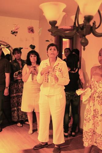 Host Yolanda Alvarado