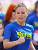 Kimberly Walsh Sainsbury's Sport Relief Mile 2012 - London