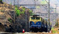 WORKHORSE WCG-2 triplets!! (Pratik Joshi2927) Tags: kalyan mumbai pune workhorse ghat indianrailways irfca bhor wcg2