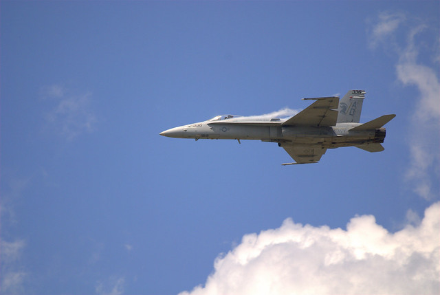 F/A 18 Super Hornet at Sun n Fun 2012