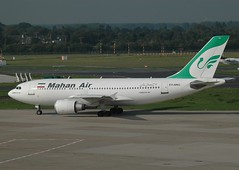 W5 A310 EP-MNO (PlaneSnapper) Tags: germany air airbus dusseldorf w5 mahan dus a310 a3103 epmno