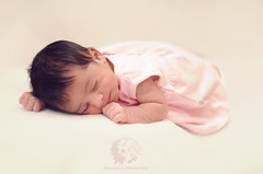 "Baby girl ""W"" (Rawan Mohammad ..) Tags: pink baby girl beauty photography kid nikon soft little photos sleep 7 australia brisbane days sleepy mohammed newborn saudi arabia tamron mohammad 2012 2010 rn   rawan       wateen  d300s rnona    almuteeb"