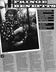 The Face no. 15 (7/81) (PC Hille) Tags: orangejuice theface thesoundofyoungscotland postcardrecords