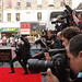 Press photographers on the red carpet for the European premiere of Brave at the Festival Theatre