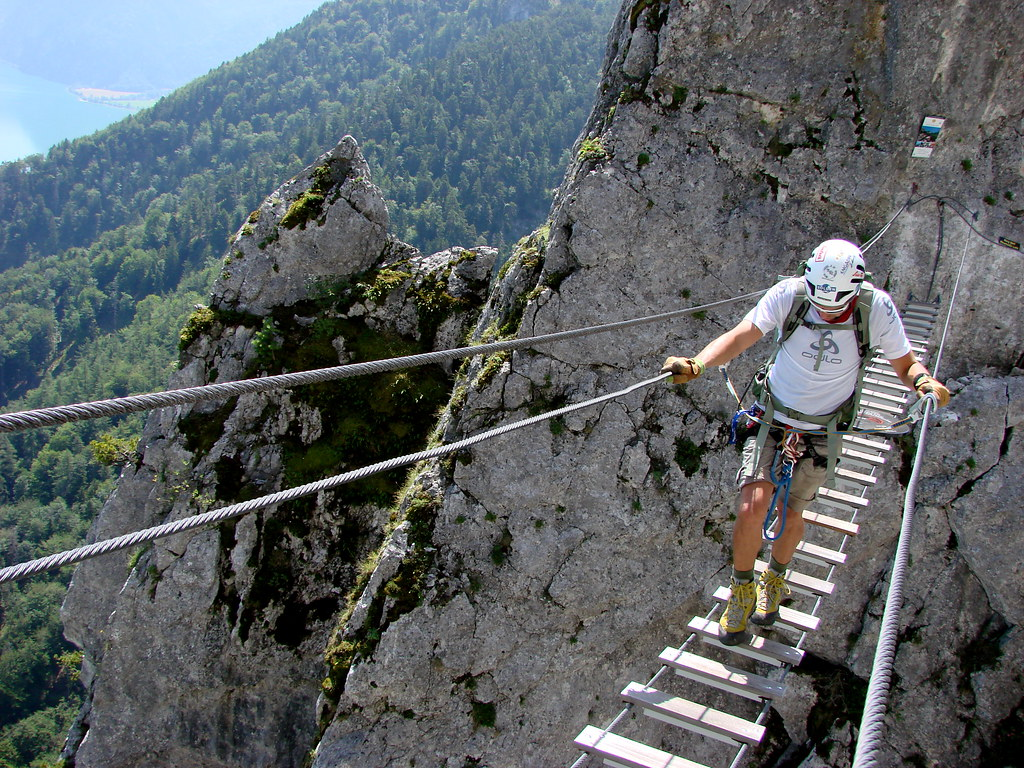 Klettersteig Mondsee : The world s newest photos of klettersteig and mondsee flickr