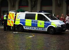BTP L43 (kenjonbro) Tags: white london westminster mercedesbenz charingcross sw1 113 vito cdi 2011 britishtransportpolice charingcrossrailwaystation kenjonbro l43 dualiner fujihs10 wp60dvf