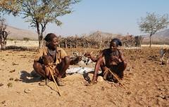 Nam-Skd_02 333 (AntoSifu) Tags: africa people man nikon smoke tribe namibia himba kunene poorpopulation