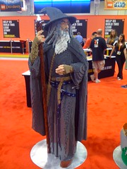 LEGO Gandalf life-size (theoneringnet) Tags: hobbit sdcc hobbitcon