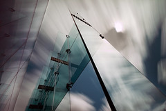 A world of glass.... (Digital Diary........) Tags: longexposure clouds movement sigma le sthelens weldingglass worldofglass