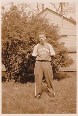 1939 Logan Square Chicago Baseball (Gwen Deanne) Tags: old original chicago sepia vintage 1930s buick uniform baseball 1938 logansquare 1939 dealer sandlot