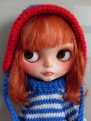 Blythe cap hoodie effect