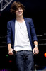 Harry Styles of One Direction Party in the Park 2012 at Temple Newsam Park Leeds, England