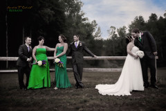 Remember When (Ronaldo F Cabuhat) Tags: newyork green canon photography groom bride bridesmaid maidofhonor bestman rememberwhen countrywedding canonspeedlite580exii cybersync cybercommander schodacktownpark