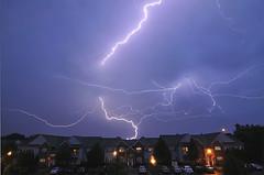 Discharge (Jersey JJ) Tags: sky storm weather flash bolts lightning