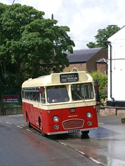 805 EVT - 'Red Lion', Goostrey (Renown) Tags: heritage buses tour cheshire restored preserved coaches preservation reliance aec 470 pmt dualpurpose goostrey singledecker potteriesmotortraction 2mu3rv 805evt sl805