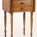 110. Two Drawer Side Table