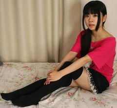 sometimes I feel like (emotiroi auranaut) Tags: girl beautiful beauty japan female nice asia pretty feminine adorable charming delightful modgirls beautyshoots