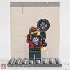 get the flash off the camera (Sharon Linne Faulk) Tags: usa macro toys lego florida wesleychapel projectlife topazadjust capture365