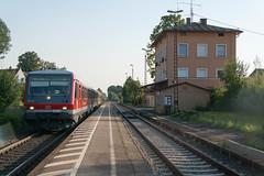 DB 628 593 (Durk Houtsma.) Tags: db deutschebahn duitsland deut beieren baureihe wrth hrlkofen br628 628593