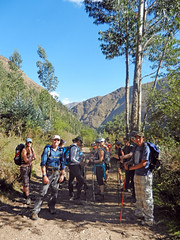 First stop (LeelooDallas) Tags: south america peru alternative inca trail colca andes hiking landscape mountain tree steve dana iwachow fuji hs20 exr 2012 dragoman overland