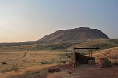 Brukkaros Crater (Jbouc) Tags: africa sunset camp volcano crater namibia kalahari afrique namibie volvan brukkaros