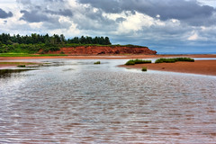 PEI Beach Scenery - HDR (freestock.ca ♡ dare to share beauty) Tags: travel blue red sky orange cloud white canada green tourism beach nature water clouds landscape island coast photo high sand scenery dynamic angle natural image cloudy sandy stock wide shoreline scenic picture free overcast wideangle prince scene canadian edward coastal photograph shore coastline sands range pei hdr resource