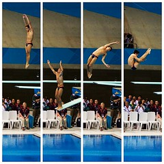 Chris Mears Quadriptych (litratistakuno) Tags: london lumix twist diving panasonic olympics pike eastlondon springboard london2012 diptic chrismears gh2 aquaticscentre quadriptych wilburmaxino