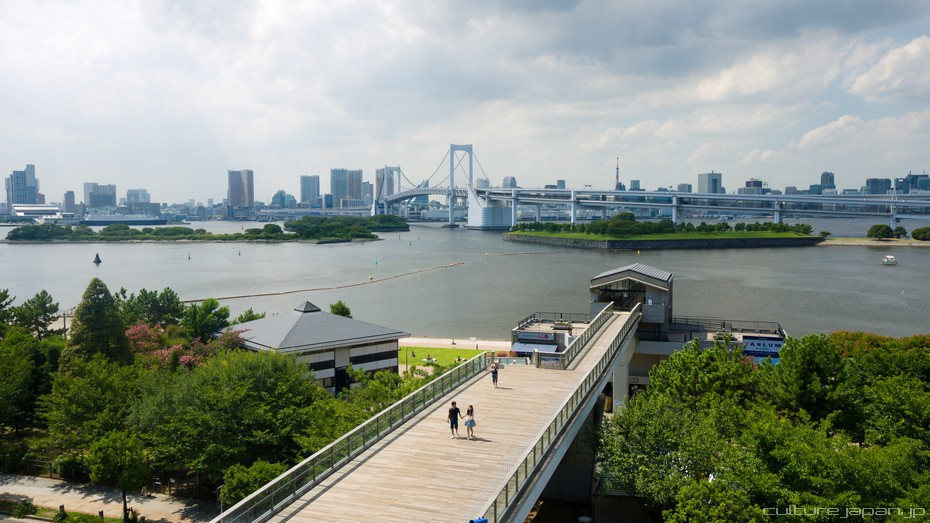 Odaiba in the Summer
