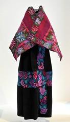 Maya Clothing Mexico (Teyacapan) Tags: flowers mexico maya embroidery skirt mexican cape museo textiles chiapas zinacantan