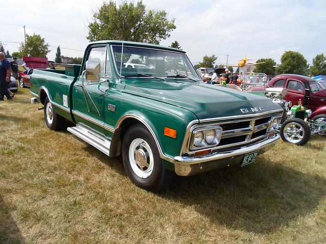 classic truck pickup 1968 gmc