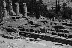Delphi (Δελφοί) Greece, Aug 2012. 05-178 (megumi_manzaki) Tags: archaeology greek ancient delphi greece worldheritage delphoi