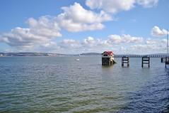 Mumbles Pier (Paula J James) Tags: sea beach swansea wales bay coast pier sand day all cloudy path south victorian east beaches gower mumbles welsh