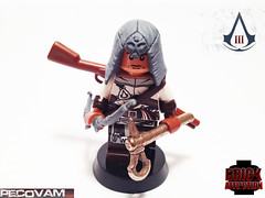 AC3-1 (pecovam) Tags: 3 brick lego connor hood custom affliction creed assassins kenway pecovam