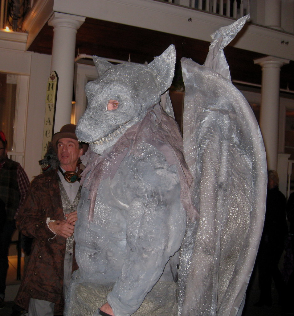halloween 2012 provincetown ma boston runner tags halloween costume provincetown massachusetts gargoyle