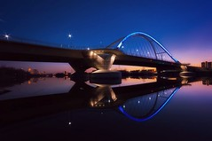Lowry Sunset (Doug Wallick) Tags: new bridge reflection minnesota skyline night river mississippi crossing angle wide arc minneapolis clear lowry lightroom a55 mygearandme mygearandmepremium mygearandmebronze mygearandmesilver mygearandmegold mygearandmeplatinum mygearandmediamond blinkagain picmonkey