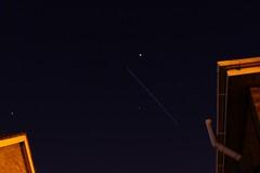 Tonights ISS pass (Tony Beyga) Tags: iss internationalspacestation astrometrydotnet:status=solved astrometrydotnet:id=nova269196