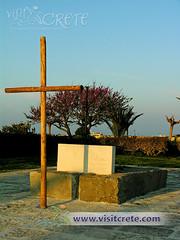Κρήτη, Ηράκλειο, Τάφος Νίκου Καζαντζάκη