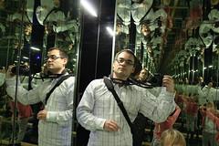 Infinite Selfie (elPadawan) Tags: mirrors czechrepublic infinite liberec photodumois iqpark centrumbabylon